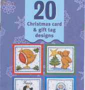 20 Christmas Card & Gift Tag Designs from Cross Stitch Crazy 65 November 2004