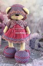 Crochet Bunny Art - Irina Tarasova - Maggie oufit set