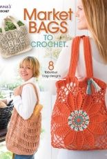 Annies Crochet - Market Bags to Crochet - 2018