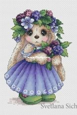 Bunny Blackberry by Svetlana Sichkar