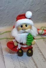 Toys by Ustyushka - Maria Ustyushkina - Santa Clause