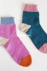 Basic Bed Socks by Emily Bolduan-Free