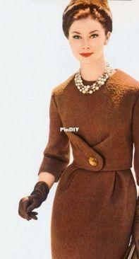 BurdaStyle 12/2012 #141 - Vintage Bouclé Dress