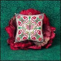 Just Nan JN314 - Christmas Butterfly Ornament