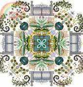 Chatelaine Designs CHAT 098 (Onl 027) – Autumn Watergarden Mandala