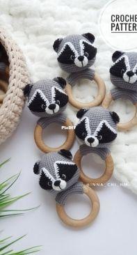 Fairy Toys by Inna Chi - Inna Chi Hm - Inna Chibinova / Chybinova - Raccoon Rattle (English)