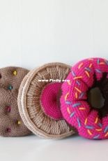Erin Black - MidKnits - Sweet Treats Cushion Collection