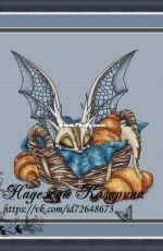 Dragon in the basket by Nadezhda Kazarina