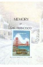 Memory of San Francisco - Souvenir Cross Stitch Chart