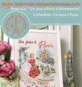 Les Brodeuses Parisiennes - Un Jour a Paris a Montmartre