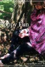 Flippy Floppy Fun Shawl by Samantha Troia-Free