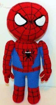 Made by Mary - Mary Smith - Spiderman Buddy - Spiderman vriendje - Dutch - Translated