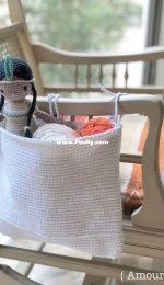 Amour Fou - Carla Mitrani - Handy Crochet Basket  - Canasta multiusos - Spanish - Free