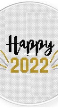 Daily Cross Stitch - Happy 2022
