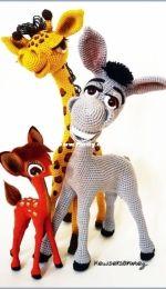 Kewser Sonmez - Giraffe and Donkey - Russian - Free