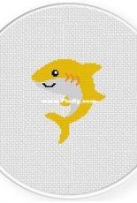 Daily Cross Stitch - Baby Shark