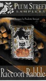 Plum Street Samplers - Raccoon Rabble