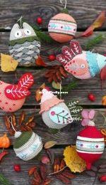 Granny Crochet Hook and Natura Crochet Christmas patterns