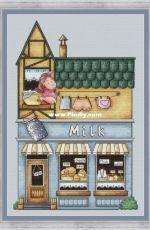 Diary Shop by Anastasia Eremina