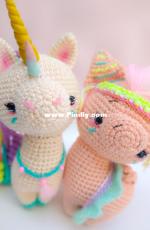 Mi mundo unicornio amigurumi - Roxana Spaciuk - Cosmo and Estrella - Spanish