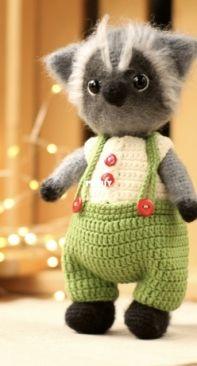 Cute Toys By Tatiana - Tatiana/Tatyana Baturina - Raccoon Charlie