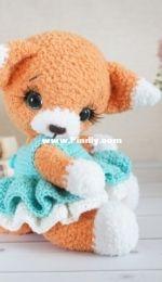 Crochet toys by Olga - Olga Gaevskaya - Little fox