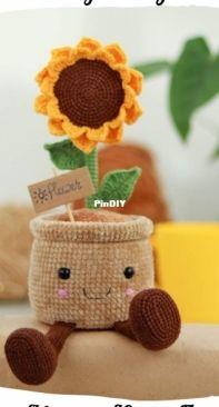 Juliia Pyha - Sunflower - Russian