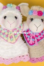 One and Two Company - Carolina Guzman - Astrid the Alpaca Security Blanket