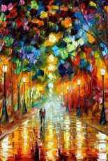 HAED HAELEA 1265 Farewell To Anger by Leonid Afremov