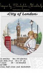 City of London by Nadezhda Mashtakova