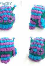 Hooked on Patterns - Ling Ryan -Feathered Owl Amigurumi- Free