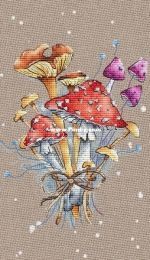 Mushroom Bouquet by Elena Shestakova