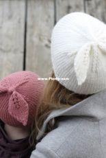 Happy Bow Hat by Stine Radicke for Hobbii - FREE