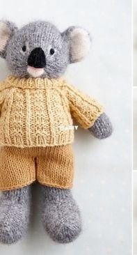 Koala in a sweater by Julie Williams