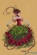 Mirabillia Designs MD148 Miss Christmas Eve by Nora Corbett