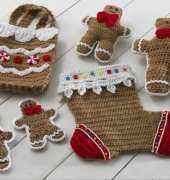 Gingerbread Stocking Set