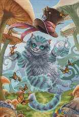The Cheshire Cat by Nadezhda Kazarina / Nadi