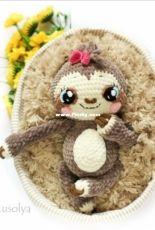 Olya Usolya - Olya Usolyceva  - Lyolya tha Baby Sloth