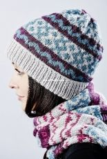Fairisle Hat + Scarf by Monica Russel-Free