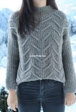 Narnija sweater by Svetlana Volkova