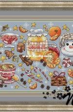 Winter delicacies by Nadezhda Kazarina