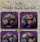 Just Nan - Twilight Pearls Leaf Ball Pincushion