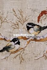 Leisure arts - Winter duet - Chickadees