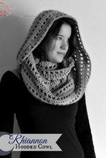 Morale Fiber - Regina Weiss - Rhiannon Hooded Cowl