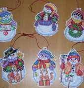 Snow Folks Ornaments
