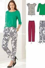 New Look 6246 women multisize sewing pattern set
