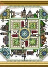Chatelaine Designs Onl 147 - The London Garden Mandala