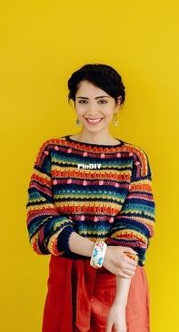 The Missing Yarn (Cassie Ward) - Eclectic Jumper - Eng