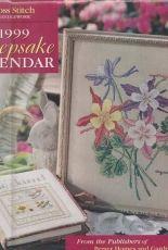 Cross Stitch & Needlework- Keepsake Calendar 1999
