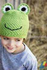 Melody's Makings - Melody Rogers - Handsome Hoppy Frog Hat